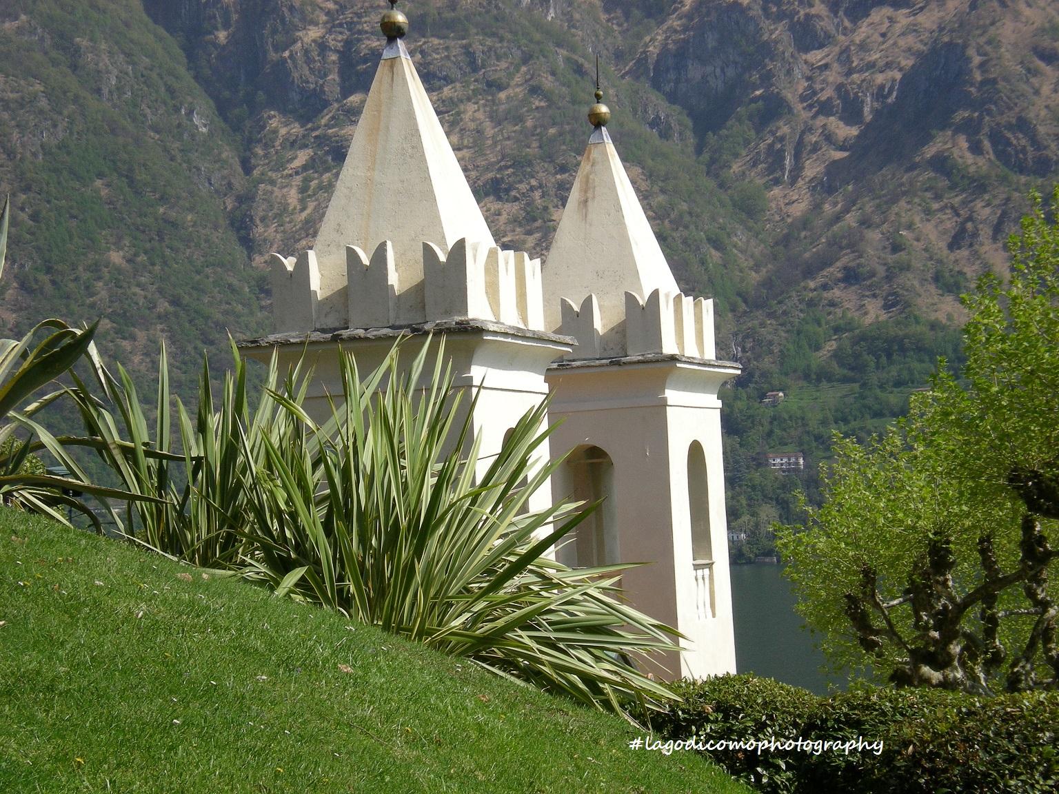 Lago di Como:  Villa del Balbianello